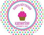 Birthday Girl-Personalized Melamine Plate
