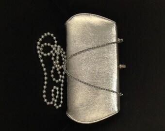 Stunning Silver Vintage Clutch