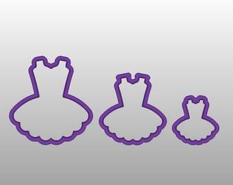 "Tutu - Various sizes 2"",3"" & 4"""