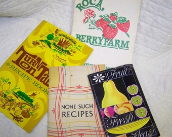 Vintage Recipe Booklets Recipe Booklet Collection