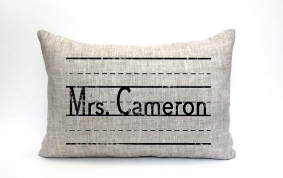 teacher gift teacher pillow teacher appreciation