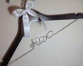 Fast shipping & turn over time. Personalized Wedding Hanger, Bride, Brides Hanger, Name, Bridal, Wedding, Bridal Gift, Hanger