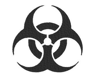 Biohazard Embroidery Design