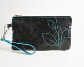 CUSTOM Wisteria Wristlet - Design Your Own - Leather - Choose Your Colors
