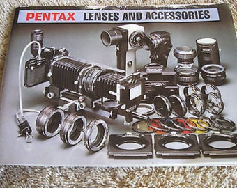 Pentax Lenses and Accessories Manual 1980 C12-14