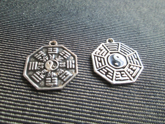 Basket Weaving Supplies Connecticut : Yin and yang charm silver supplies set of ct