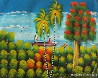 Haitian Painting By Nassan