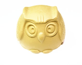Longzang Owl Mold s054 Silicone Soap molds Craft ART Molds DIY Handmade soap mould