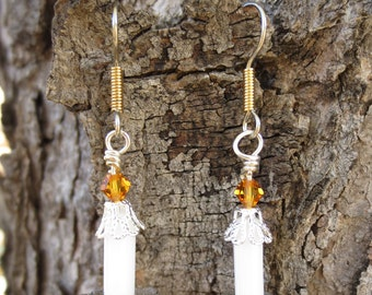 Candle's Glow Earrings