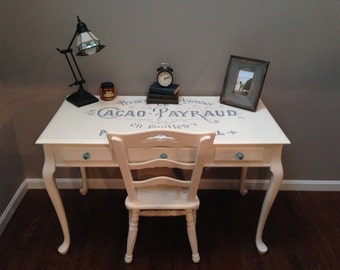 ITEM IS SOLD - Shabby Chic French Desk/Table