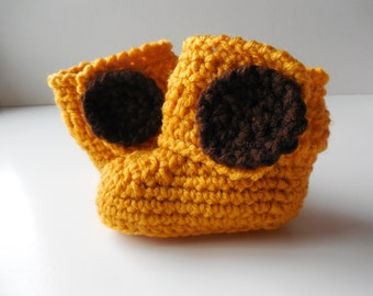 Giraffe Baby Booties - Baby Boots - Handmade Crochet - Baby Shoes - Made to Order