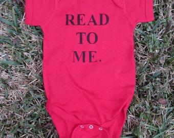 Read To Me Baby Bodysuit
