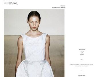 Blogger template 'Minimal'