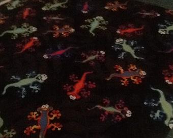 Pillow Case Multi Lizards