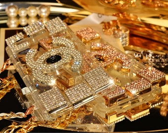 Gold bling designer case fits a iphone 5 5s and 5c