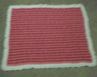Crochet afghan  Stroller Blanket, Bassinet Blanket, Baby Nursery Blanket  lot  86