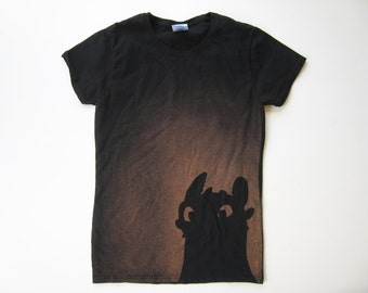 Toothless from How to Train Your Dragon t-shirt (women's)