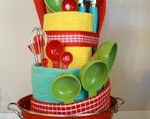 Custom Towel Cake for Megan Elmore