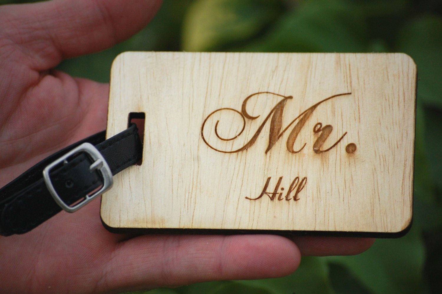 Personalized Luggage Tags Wedding Gift: Personalized Wedding Gift Mr And Mrs Luggage Tags Newlywed