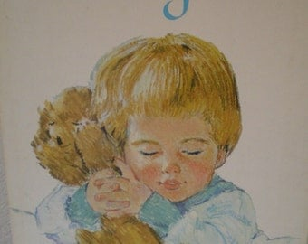 """Vintage """"My Thank You Book """" 1964  Childrens Book of Prayers, Songs and Poems"""