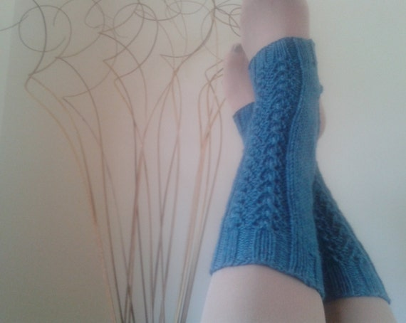 Yoga Leg Warmers Knitting Pattern : KNIT PATTERN Hand Knit 3 Yoga Socks Knitting Patterns Leg Warmer Pattern Spat...