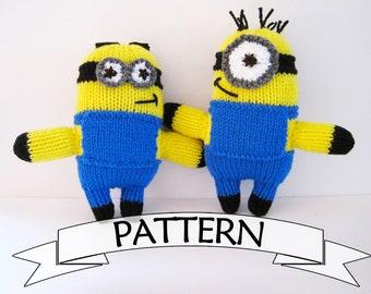 Minion Toy Pattern Knit Your Own Minion Doll Minion