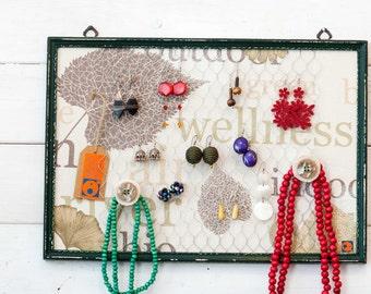Popular items for porta orecchini on etsy - Creare porta orecchini ...