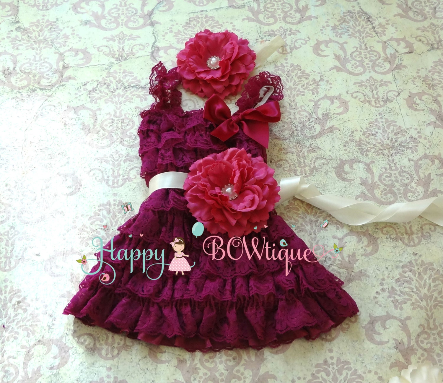Plum Baby Dress Il Fullxfull Zg