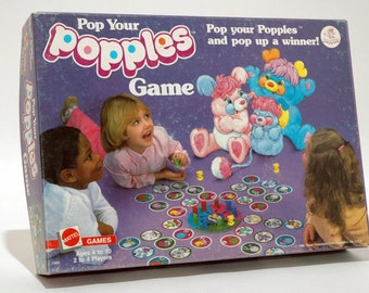Pop Your Popples Game Mattel 1986 COMPLETE