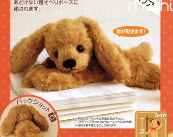 Fluffy Cavalier Puppy Hand Sewing Kit - Make Your Own Puppy Plush