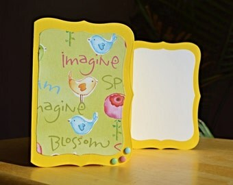 Bright and cheerful notecard