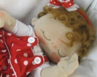 Li'l baby girl 16-inch weighted doll  Waldorf Inspired ~ (3) skin tones to choose from