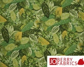 Herb Print Fabric, Farmer John's Market by Paintbrush Studio, Quilt or Craft Fabric, Fabric by the Yard