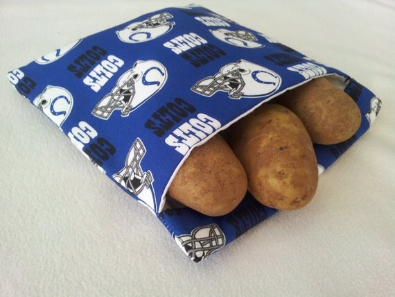 Indianapolis Colts Microwave Baked Potato Bag