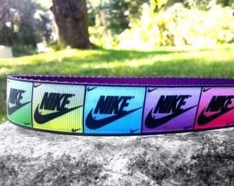 Sneaker 1 Inch Width Dog Collar