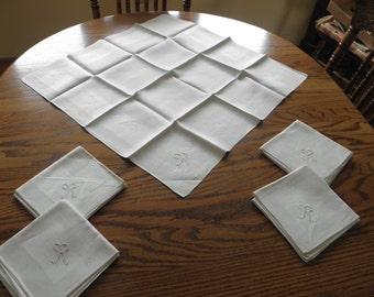 Set of Five Linen Napkins R