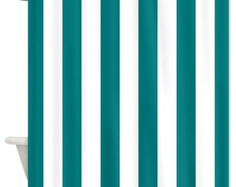 Image Result For Navy Blue And White Verticaled Shower Curtain