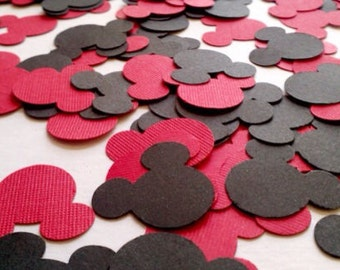 100 Micky mouse die cuts