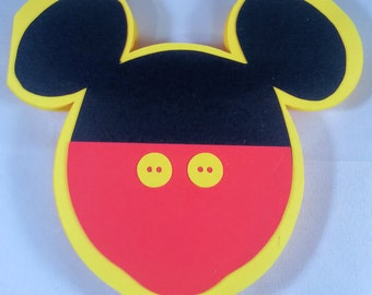10 MICKEY MOUSE invitation 1st birthday