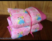 Princess Pillow Bed with Disney Princess fabric, Nap Mat, Children's Pillow Bed, Pillow Mattress, Sleepover Bed
