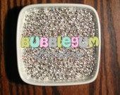 5mm Silver Spacer Beads ~ 3oz. (approx. 500 spacers)