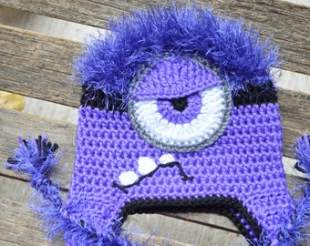 Unique minion hat related items Etsy