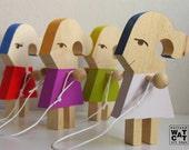 HUGIRL - Wooden toy