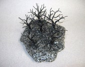 50% Off Sale!  Black Forest - a twisted wire tree sculpture.