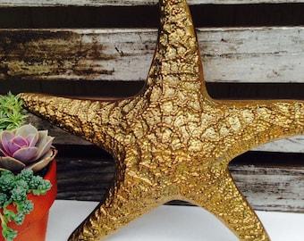 Vintage Brass Starfish.