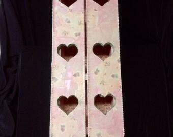 Pink Hanging Curio Box