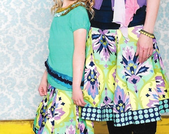 Everyday Skirts for Child and Adult Paper Sewing Pattern by Kati Cupcake Pattern Co.