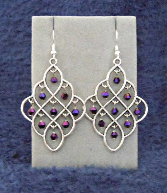 Aura Earrings: Melificent