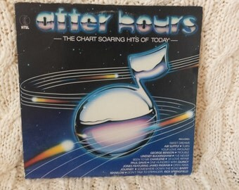 After Hours- The Chart Soaring Hits Of Today vinyl record