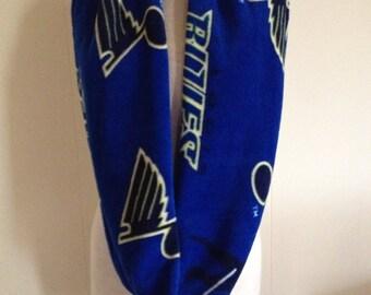St. Louis Blues Hockey Fleece Infinity Scarf